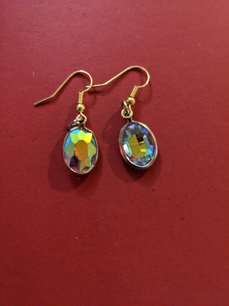 Yellow Garnet Earrings