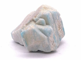 130g Amazonite from Konso, Ethiopia - Microline var. Amazonite / Albite