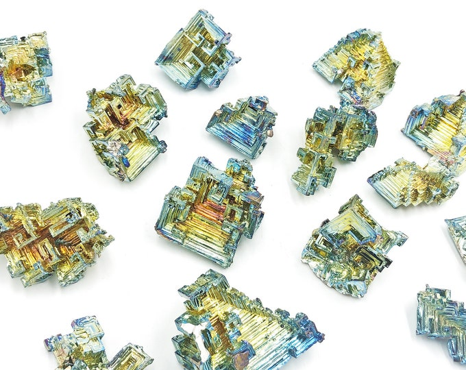 "Cobble Creek: Bismuth Crystals - 1.5"" - 2"""