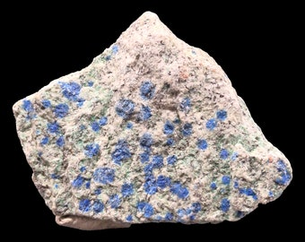 Cobble Creek: Nice Raw K2 / Ketonite / Azurite in Granite from Pakistan - Raw - Natural - Rough - Chunk