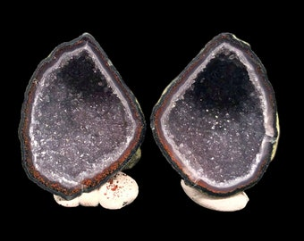 Large Pair of Tabasco Geodes (A+) from Mexico