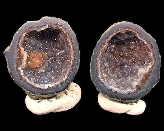 Pair of Tabasco Geodes (A+) from Mexico