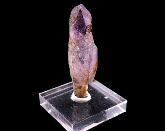 Zimbabwe Amethyst Quartz Point -  from Zimbabwe, South Africa with Base - Natural Raw