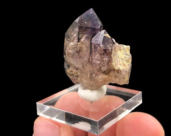 Brandberg  Smoky Amethyst Quartz Cluster from Brandberg Mountain Range in Namibia, Africa - Natural - Raw - Purple Hues