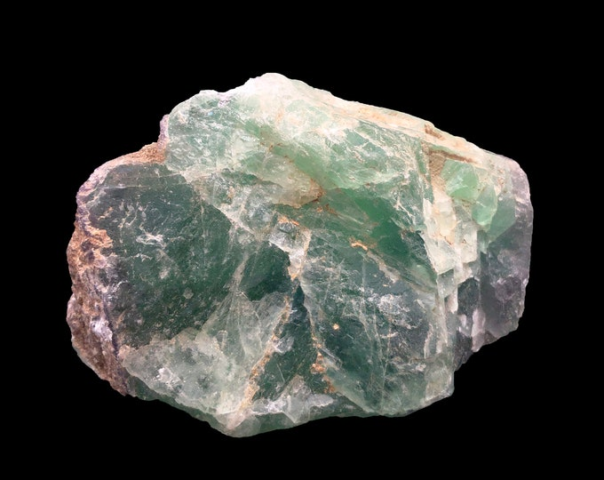 Cobble Creek: Large 2.46 LB  -  Rainbow Fluorite from Mexico - Raw - Natural - Rough - Chunk