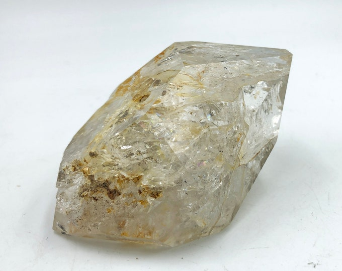 Cobble Creek: (130g) Herkimer Diamond from Herkimer County, New York, USA.