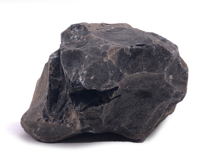 Cobble Creek: 1.32LB Large Chunk of Obsidian Raw Rough Natural from Mexico