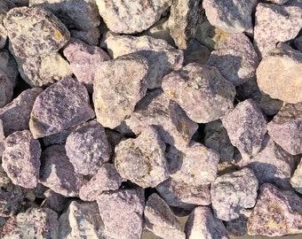 1 LB of Lepidolite Rough from Brazil