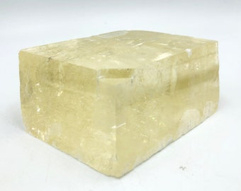 Cobble Creek: Optical Calcite - Iceland Spar from Brazil - Natural - Raw - Rough