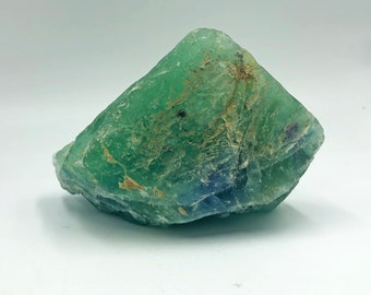 Cobble Creek: 1.3 LB  -  Green Fluorite from Mexico - Raw - Natural - Rough - Chunk