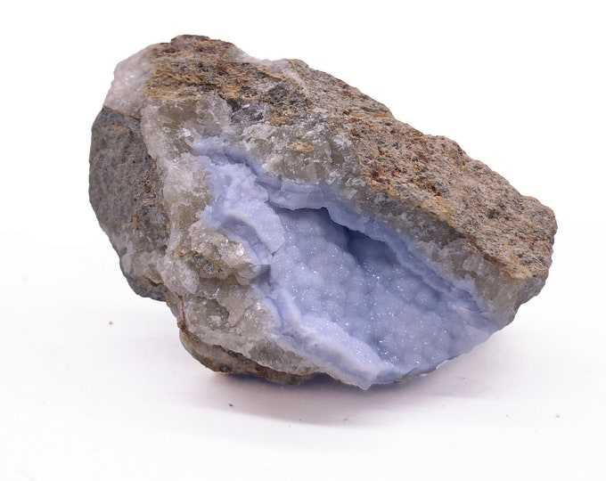 Cobble Creek: Natural Blue Lace Agate from Malawi, Africa - Natural - Raw