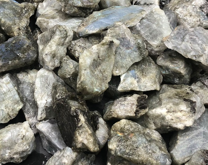 1 LB Labradorite Rough from Madagascar
