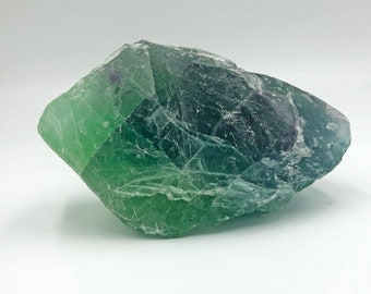 Cobble Creek: 1.6 LB  -  Green Fluorite from Mexico - Raw - Natural - Rough - Chunk