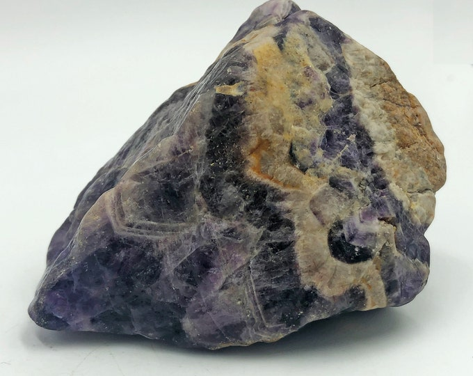 Cobble Creek: Chevron Amethyst from Zambia, Africa