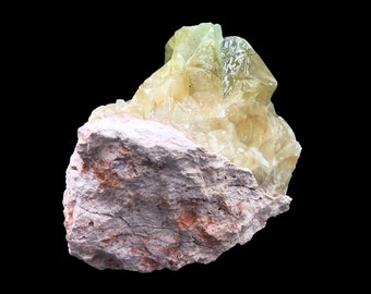 Cobble Creek: Chunk of Green Calcite from Mexico