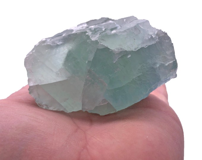Cobble Creek: Nice Chunk of Green Fluorite  (293g) Rough from China