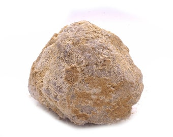 Nice Sized 1.05LB Break Your Own Geodes from Morocco - Druzy Quartz / Calcite