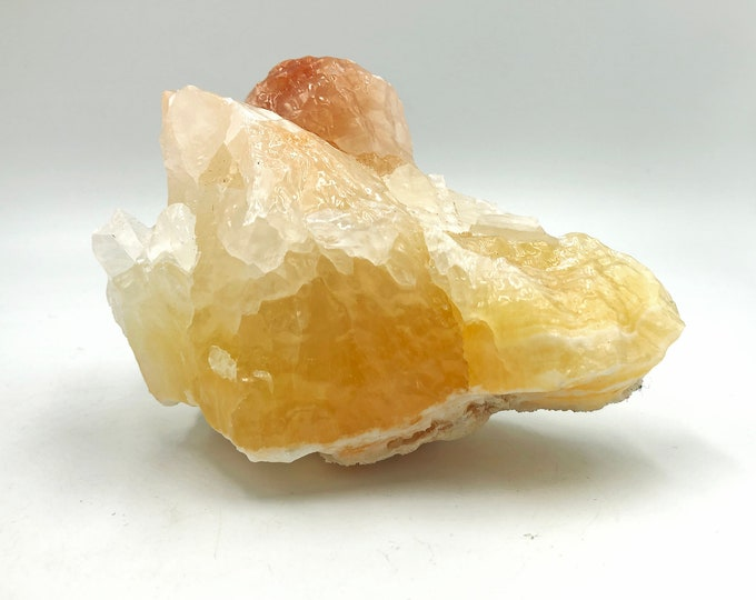 Cobble Creek:  Banded Pineapple Calcite from Mexico