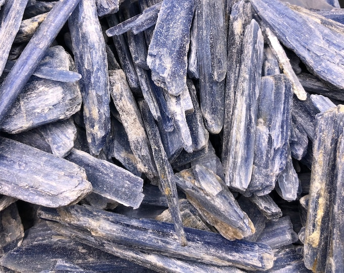 1/4 LB Blue Kyanite Blades from Brazil