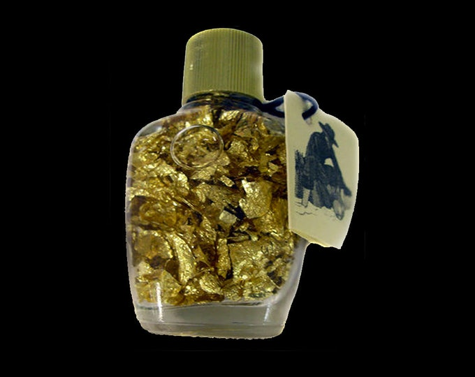 Bottle of Gold Flake from Brazil