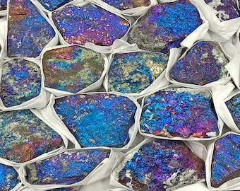 "1 LB Chalcopyrite from Sonaro, Mexico (Grade B - 1.5"" - 2.0"") 5-7 pieces per lb"