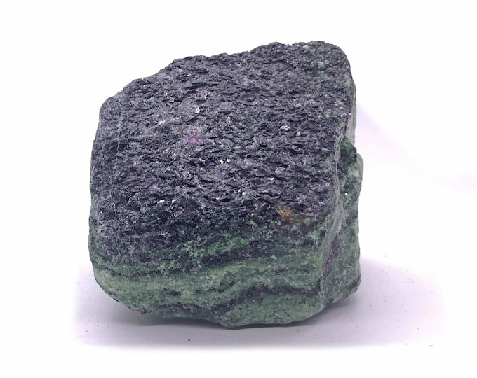 Cobble Creek:  Large 2.7 Pounder Raw Rough Chunk of Ruby in Zoisite from Tanzania, East Africa