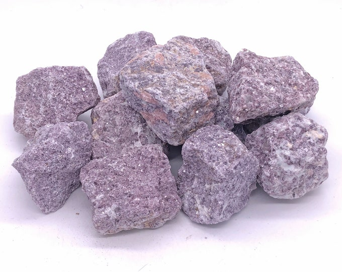 Cobble Creek: Sparkly 100g+ Chunks of Beautiful Lavender Lepidolite from Brazil