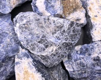 25 lb Blue Sodalite Rough from Brazil