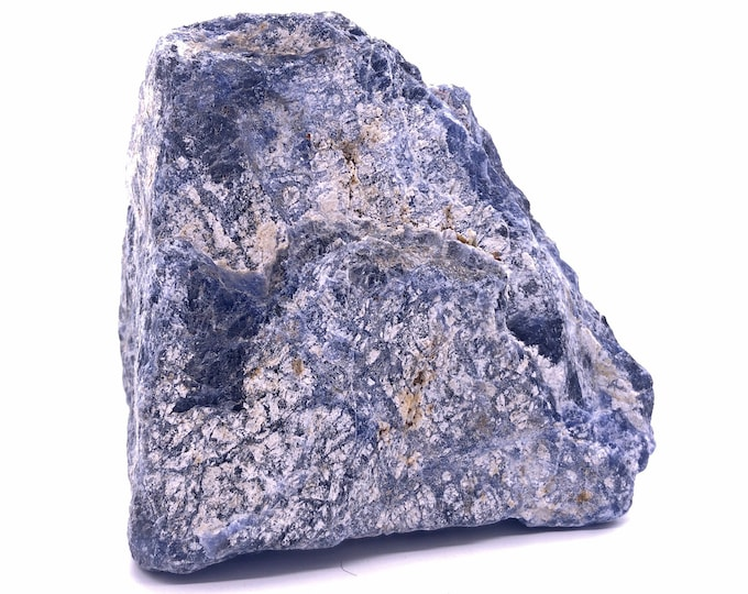 Cobble Creek: Nice Chunk of (1.2LB) Blue Sodalite Natural Raw Rough from Brazil