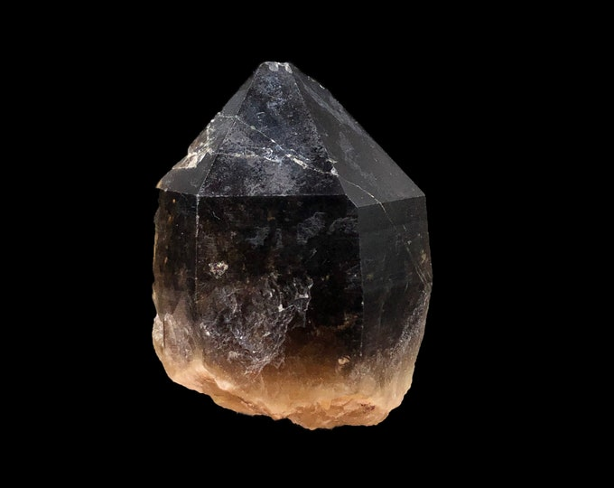 Smoky Citrine Quartz Point from the Democratic Republic of Congo, Africa - Beautiful - Raw - Natural