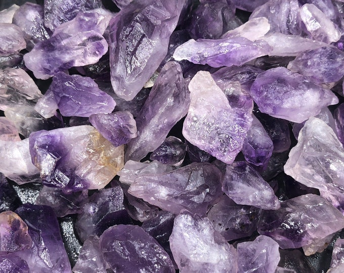 25 lb Amethyst Points Rough from Brazil