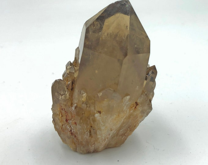 Smoky Citrine Quartz Cluster from the Democratic Republic of Congo, Africa - Beautiful - Raw - Natural