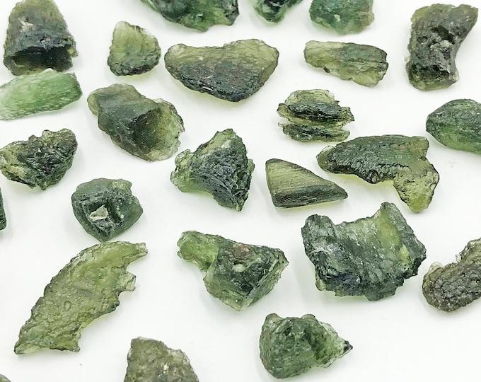 Moldavite from Chlum Area, Bohemia, Czech Republic