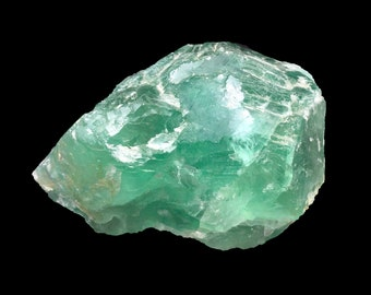 Cobble Creek: Large 1.44 LB  -  Green Fluorite from Mexico - Raw - Natural - Rough - Chunk