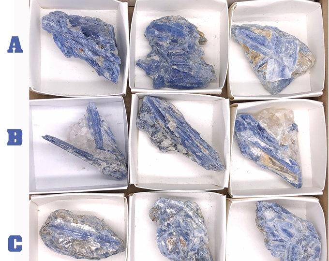 Cobble Creek: Kyanite Cluster from Brazil
