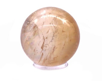 Cobble Creek: Beautiful (49mm/171g) Honey Calcite Sphere