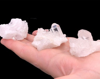 1 LB Small Clear Quartz Clusters from Brazil