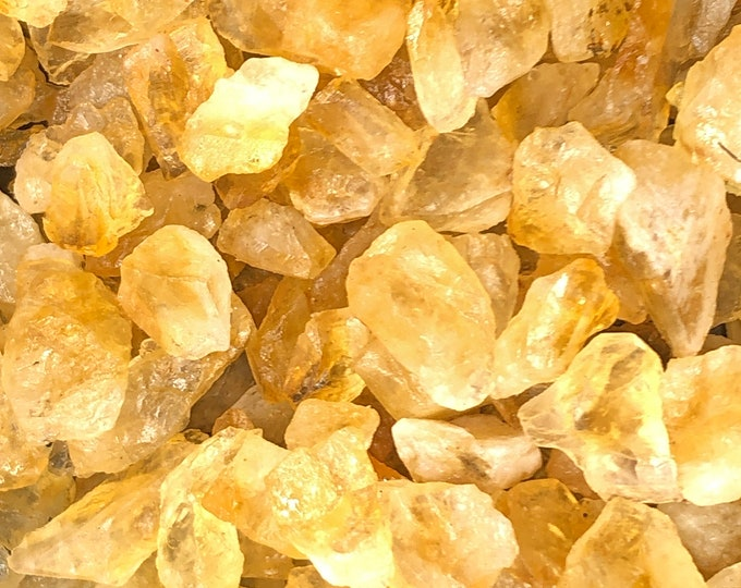 Cobble Creek:   1 LB Citrine Rough from Brazil - Great color - Nice Quality