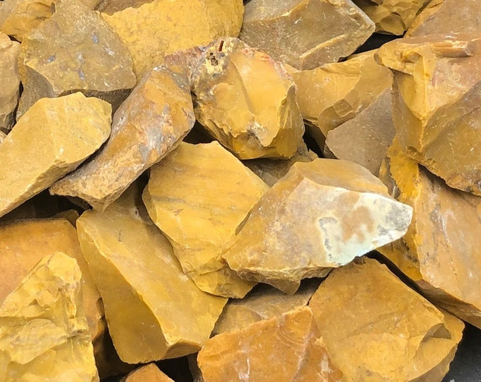 1 LB Yellow Jasper Rough from Madagascar
