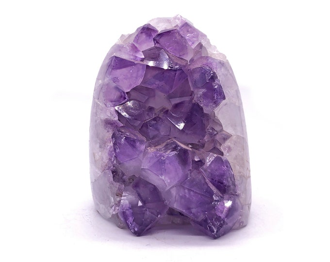 2.76 LB Self Standing Amethyst with Cut Base from Uruguay