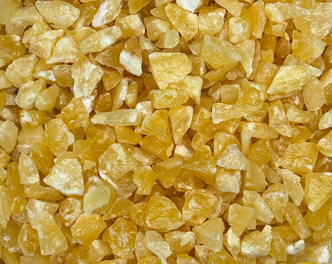 "1 LB Tiny\Small Orange Calcite from Durango, Mexico (~1/2""-1"") - Great color!"
