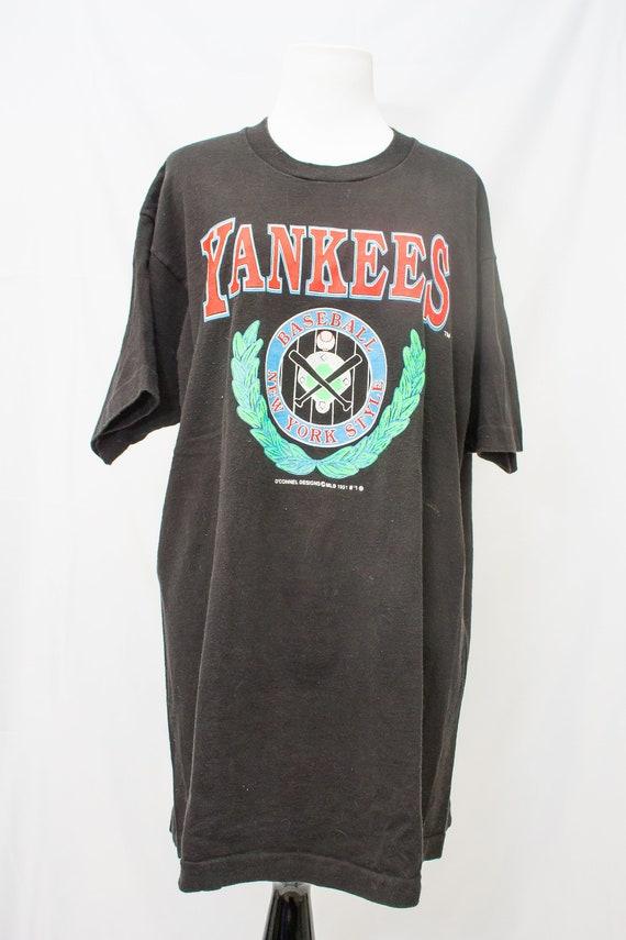 87688b0dc 1991 New York Yankees Baseball T Shirt O Connel Designs
