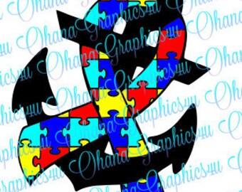 Autism Awareness Anchor