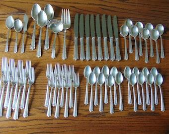 Sterling Silver Flatware International Fine Arts Tranquility Teaspoon