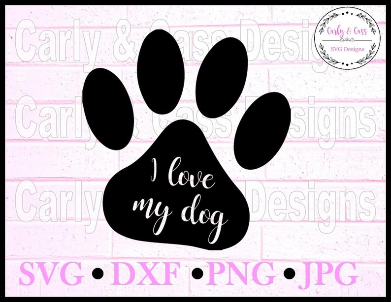 17+ I Love My Pomeranian – Svg File SVG