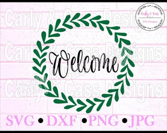 Welcome, Welcome svg, SVG, DXF, JPG, png, cutting file, digital file, cricut, sillouette, cute svg, svg file
