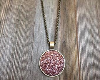 Antique Bronze Necklace