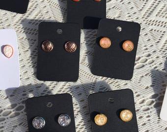 12mm Earring Studs