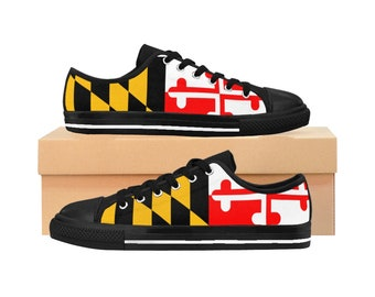 b9d7766d5e Maryland Flag Women s Sneakers Shoes
