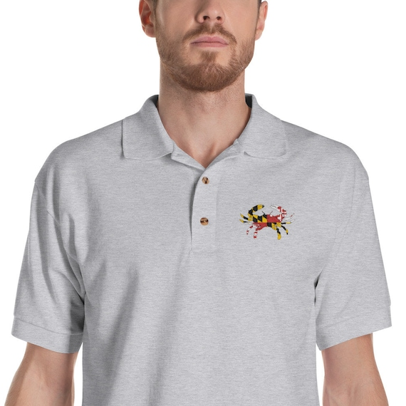 PERSONALISED JAPAN JAPANESE  FLAG EMBLEM T POLO SHIRT EMBROIDERED